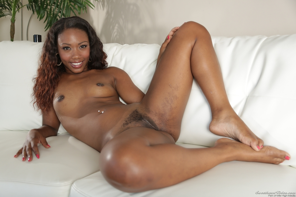 Light Skin Ebony Teen Feet