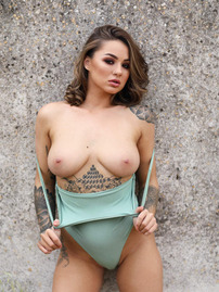 Beauty Mica Martinez Displays Her Hot Tattooed Bod